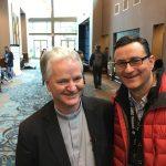 Bischof Paul Tighe und Nikolai A. Behr
